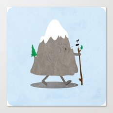 Lil' Hiker Canvas Print