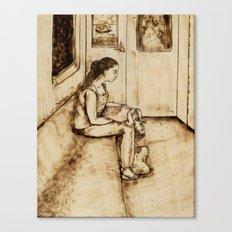 Enjoyment Canvas Print