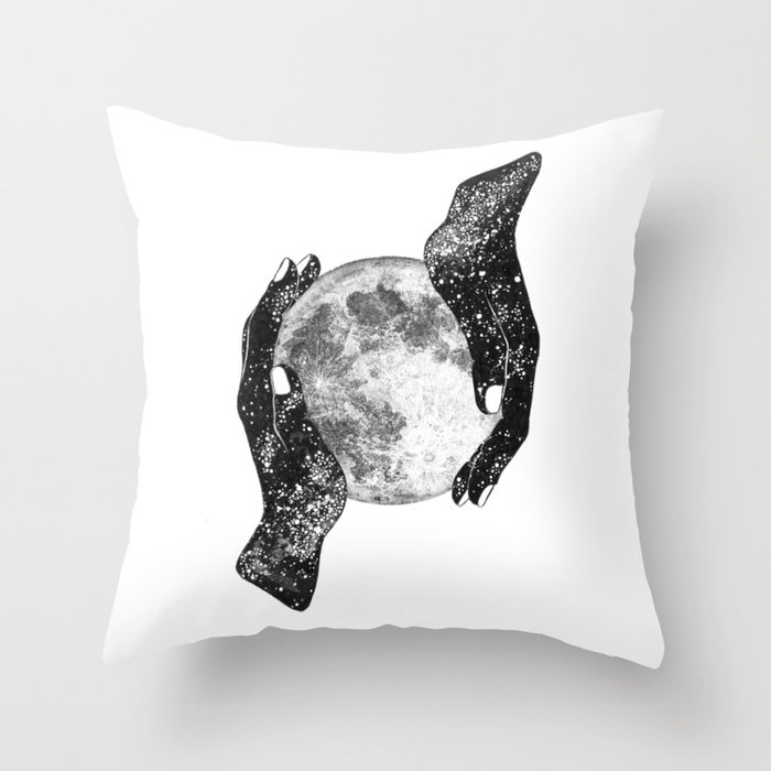 The Magic of the Universe Throw Pillow