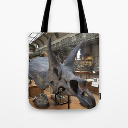 Curiosity #2 Triceratops Tote Bag