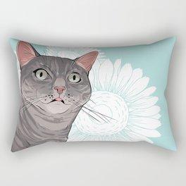 Sherlock the Cat Rectangular Pillow