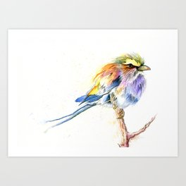 Badass Bird Art Print