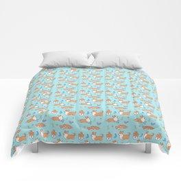 Corgi attitude Comforters