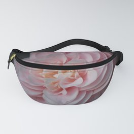 Pastel Pink Camellia Fanny Pack