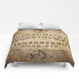 Ouija Board (Rustic Version) Comforters