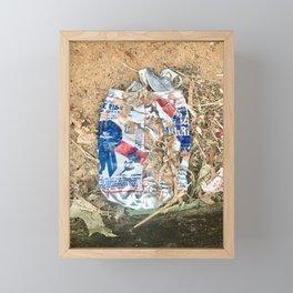 PBR Sand Framed Mini Art Print