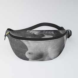 Distressed Nude Fanny Pack