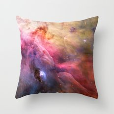 Orion Nebula 2 Throw Pillow