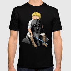 Number One Dad (Vader) Black Mens Fitted Tee 2X-LARGE