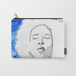 Boy in blue Carry-All Pouch