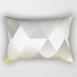 Silver Triangels N.1 Rectangular Pillow