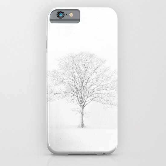 Tree in the Snow iPhone & iPod Case