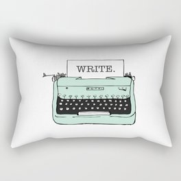 TYPE{WRITE}R Rectangular Pillow