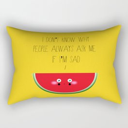 I don't know why Rectangular Pillow