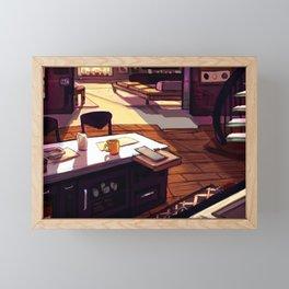 Living Space - Teens of Valor room design Framed Mini Art Print