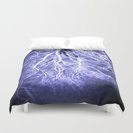 Passage to Hades Periwinkle Gray Duvet Cover
