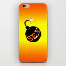 sex bomb iPhone & iPod Skin