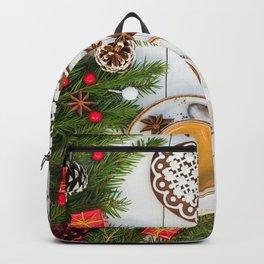 Desktop Wallpapers New year Heart Coffee Cup Cooki Backpack