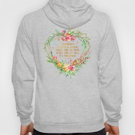 Christmas is love in action Hoody