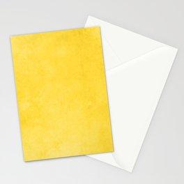 Trending Home Decor Auric Solid Pallets - Golden Warm Mustard Pastel - Minimalist Plain Colors 2k Stationery Cards