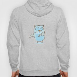 Floss Dance Move Owl Hoody