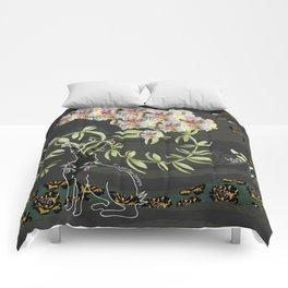 The love of gardening Comforters