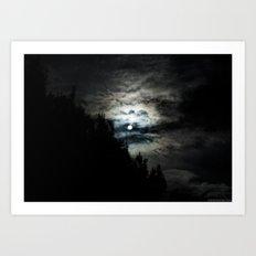 Dark Sun Art Print