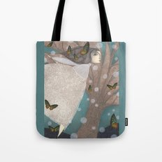 Finding Winter Tote Bag