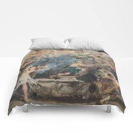 L'Apothéose de Henri IV Comforters