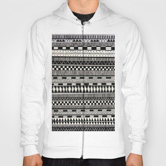 black//white Hoody