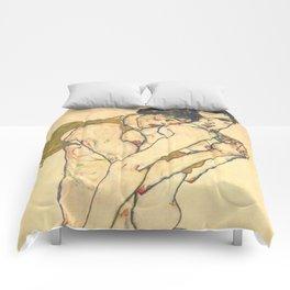 "Egon Schiele ""Friendship"" Comforters"