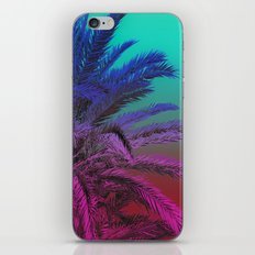 Enjoy The Summer in Green, Palm Trees, Typography. iPhone & iPod Skin