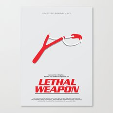 Lethal Weapon Canvas Print