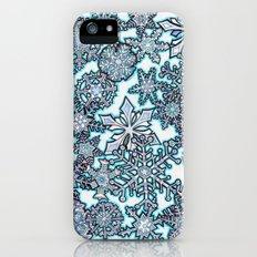 Gentle Snowstorm Slim Case iPhone (5, 5s)