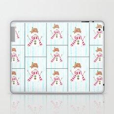 Bonhomme de neige Laptop & iPad Skin