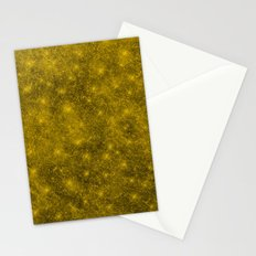 Sequin series gold Stationery Cards