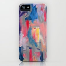 No. 60 Multicolour Modern Art Abstract iPhone (5, 5s) Slim Case