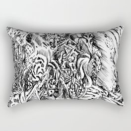 Abstract Turbulence Rectangular Pillow