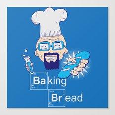 Baking Bread Canvas Print