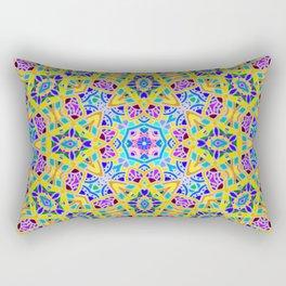 Persian kaleidoscopic Mosaic G521 Rectangular Pillow