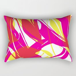Cut Over the Wave Rectangular Pillow
