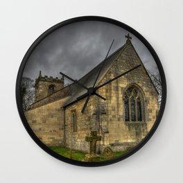 12th Century Church, England Wall Clock