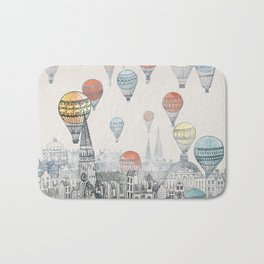 Voyages over Edinburgh Bath Mat
