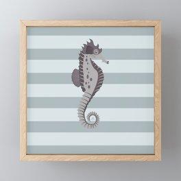 AFE Nautical Seahorse 2019 -4 Framed Mini Art Print