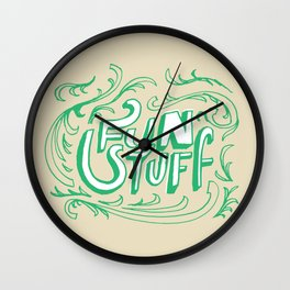 Fun Stuff Wall Clock