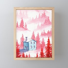 Foggy Forest #9 Framed Mini Art Print