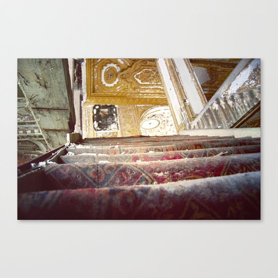 The Fall of the Matinee Canvas Print