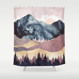Mauve Vista Shower Curtain