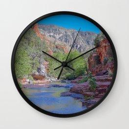 Slide Rock Park Wall Clock