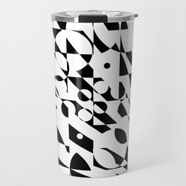 Fractured Structure Travel Mug